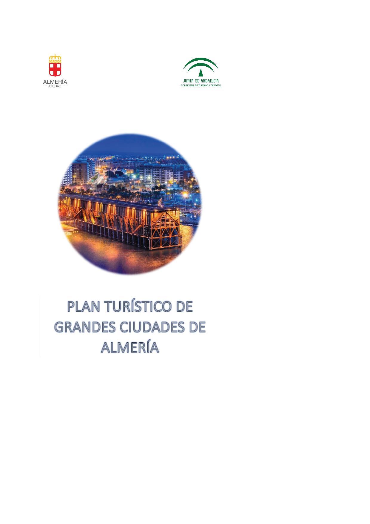 Portada del Plan turístico de Almería