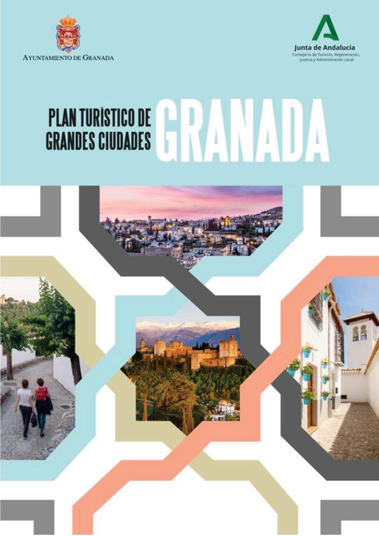 Portada del Plan turístico de Granada