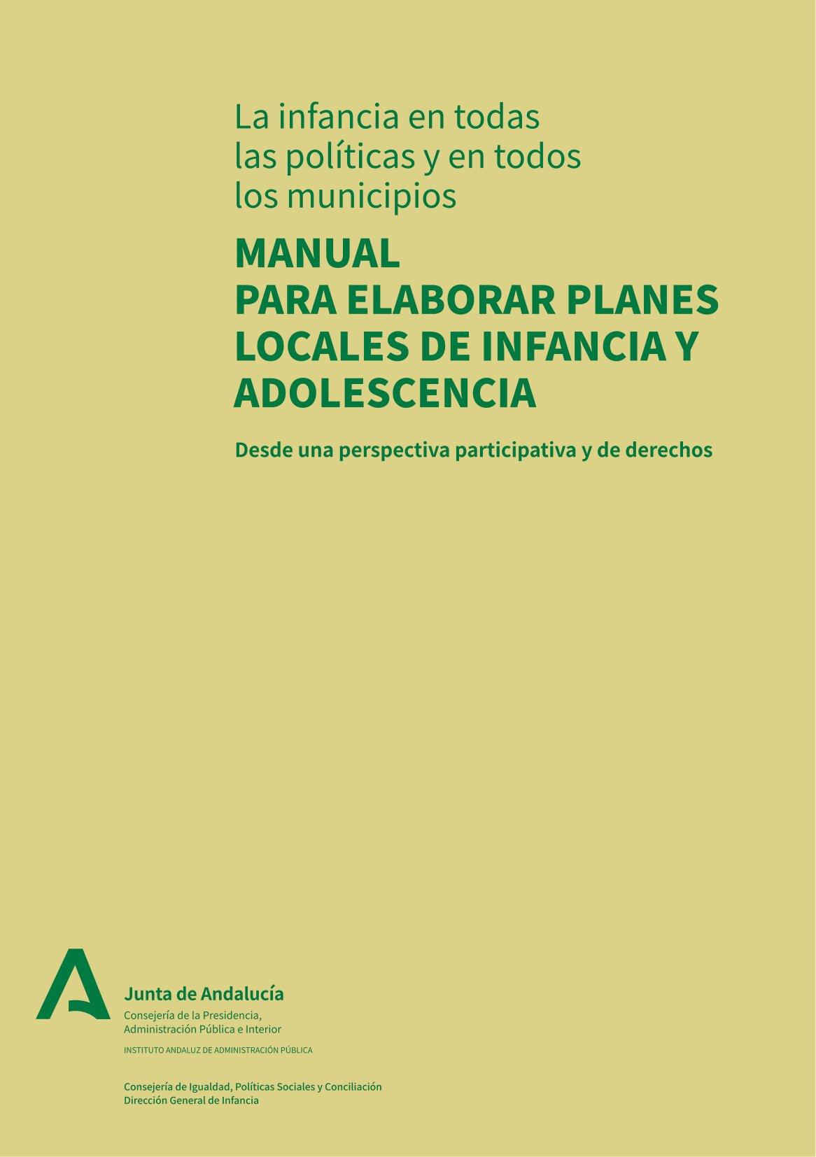 Manual para Elaborar Planes Locales de Infancia y Adolescencia
