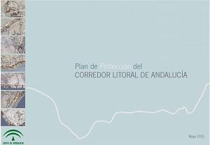 Portada del Plan de Protección del Corredor Litoral de Andalucía