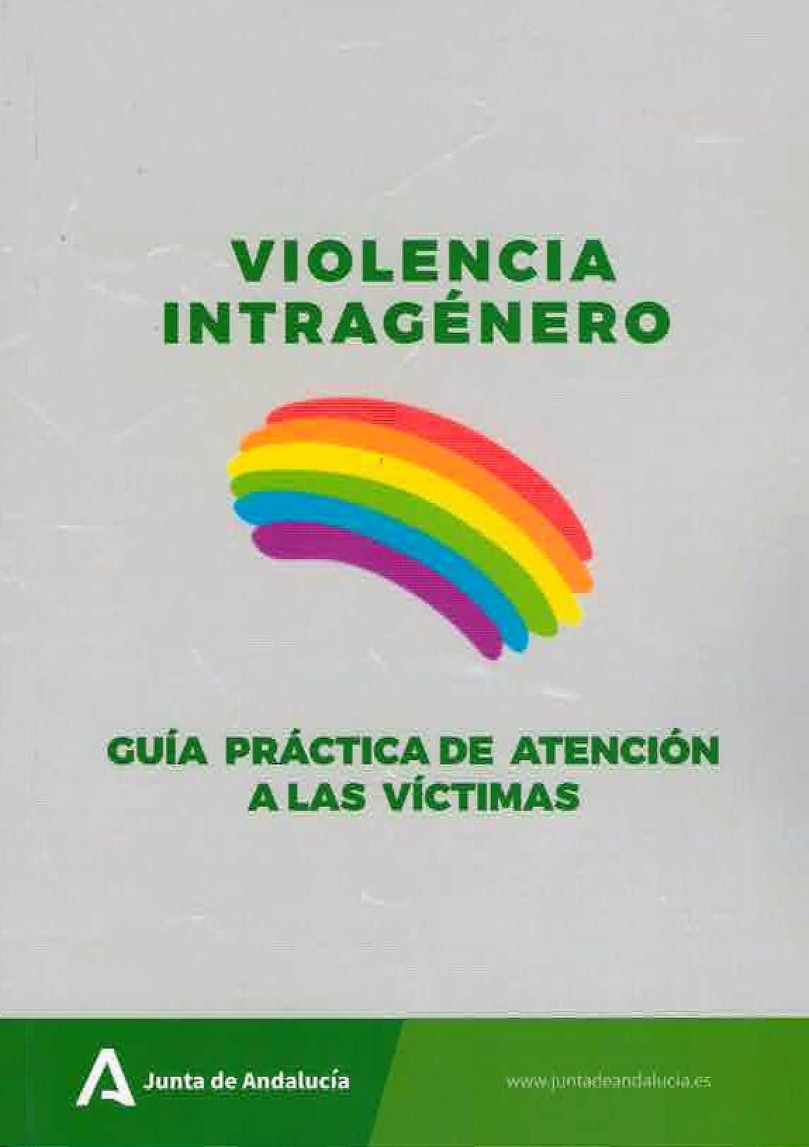 Violencia intragénero. Guía práctica de atención a las víctimas. Portada.