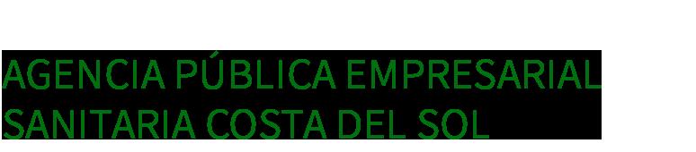 Agencia Pública Empresarial Sanitaria Costa del Sol