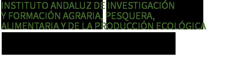Instituto Andaluz de Investigación y Formación Agraria, Pesquera, Alimentaria y de la Producción Ecológica