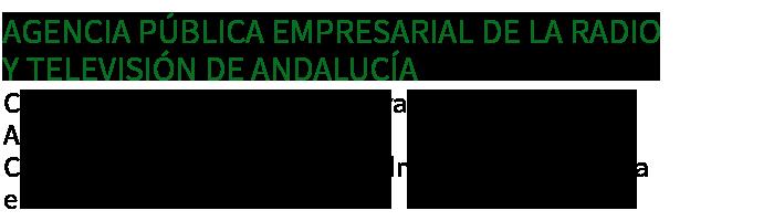 Agencia Pública Empresarial de la Radio y Televisión de Andalucía