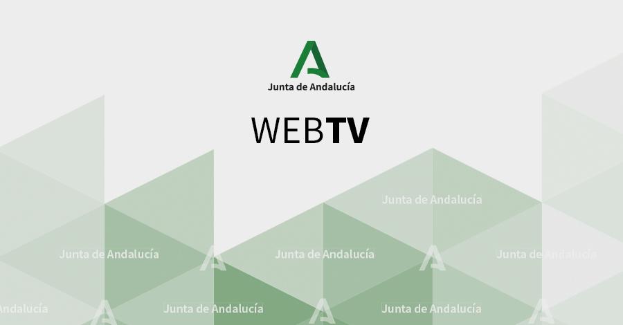 Portada de la Web oficial de la Junta de Andalucía